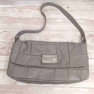 Marc by Marc Jacobs workwear grey quilted handbag